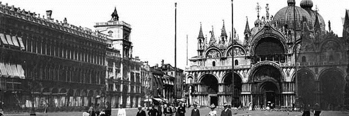 Momenti di vita in Piazza San Marco, il Salotto dei veneziani.