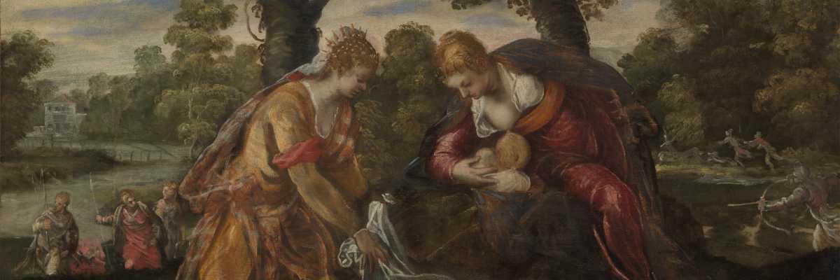 Jacopo Tintoretto, Il Ritrovamento di Mosè, The Met Fifth Avenue New York