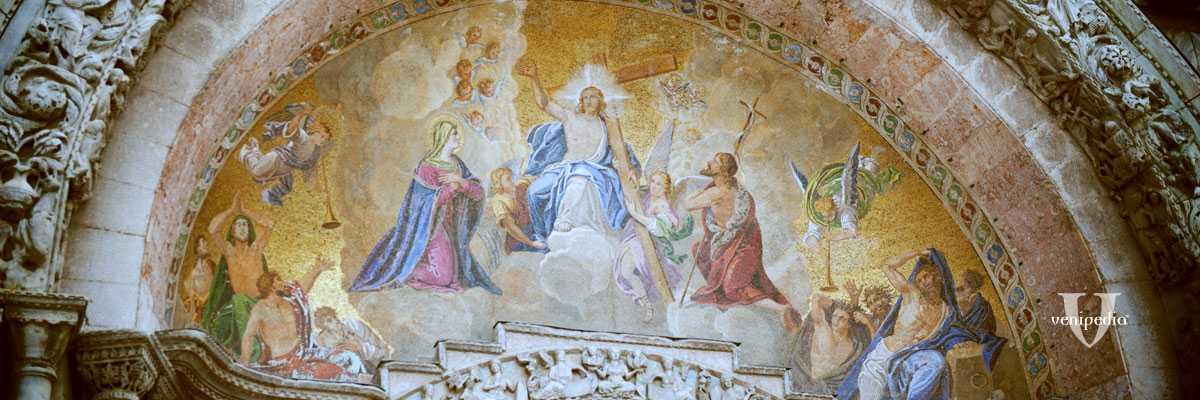 Particolare della Basilica di San Marco