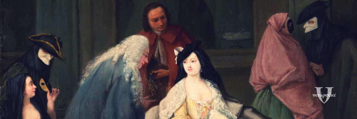 "Particolare de ""L'Incontro"", Pietro Longhi, 1746 (Metropolitan Museum, New York)"
