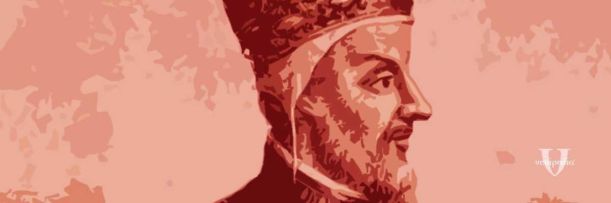 Incisione raffigurante il doge Michele Morosini