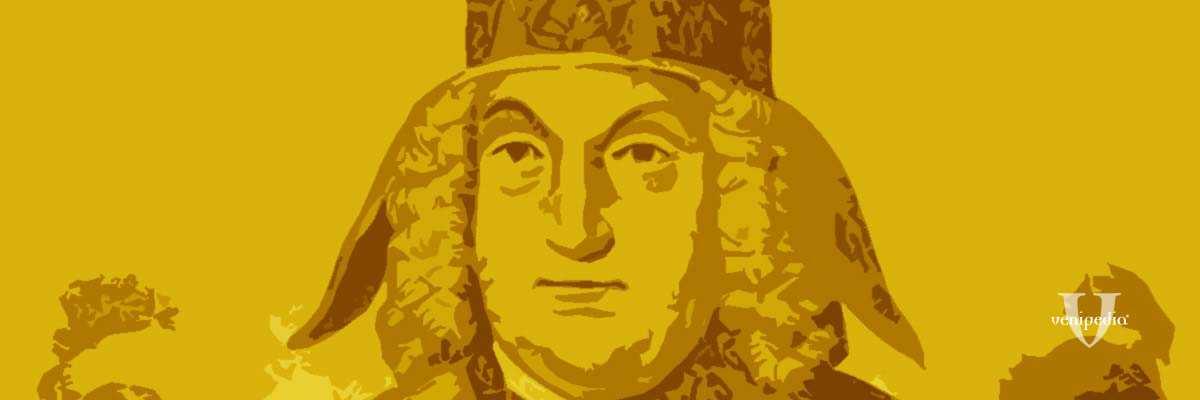 Incisione raffigurante il doge Pietro Grimani