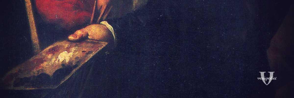Frammento di un dipinto di Jacopo Palma il Giovane.