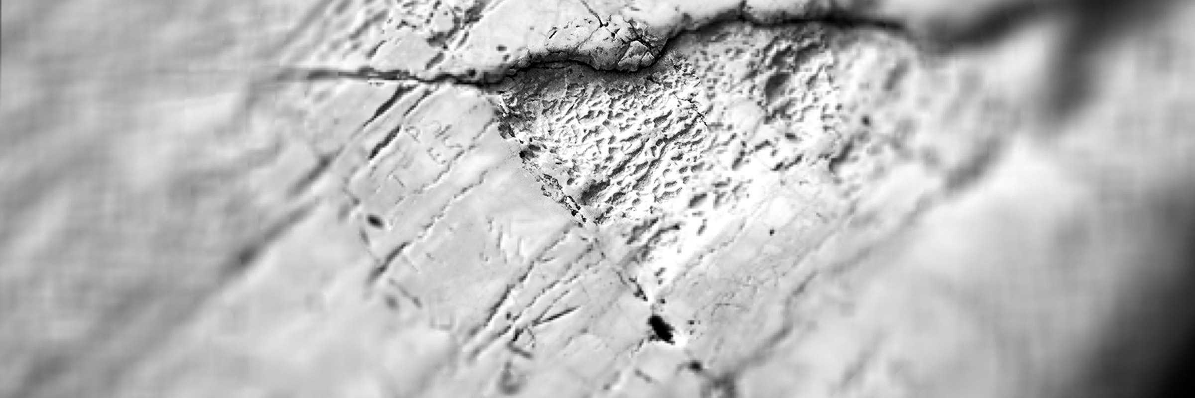 Particolare su marmo, Ponte di Rialto. (Archivio Venipedia/Bazzmann)