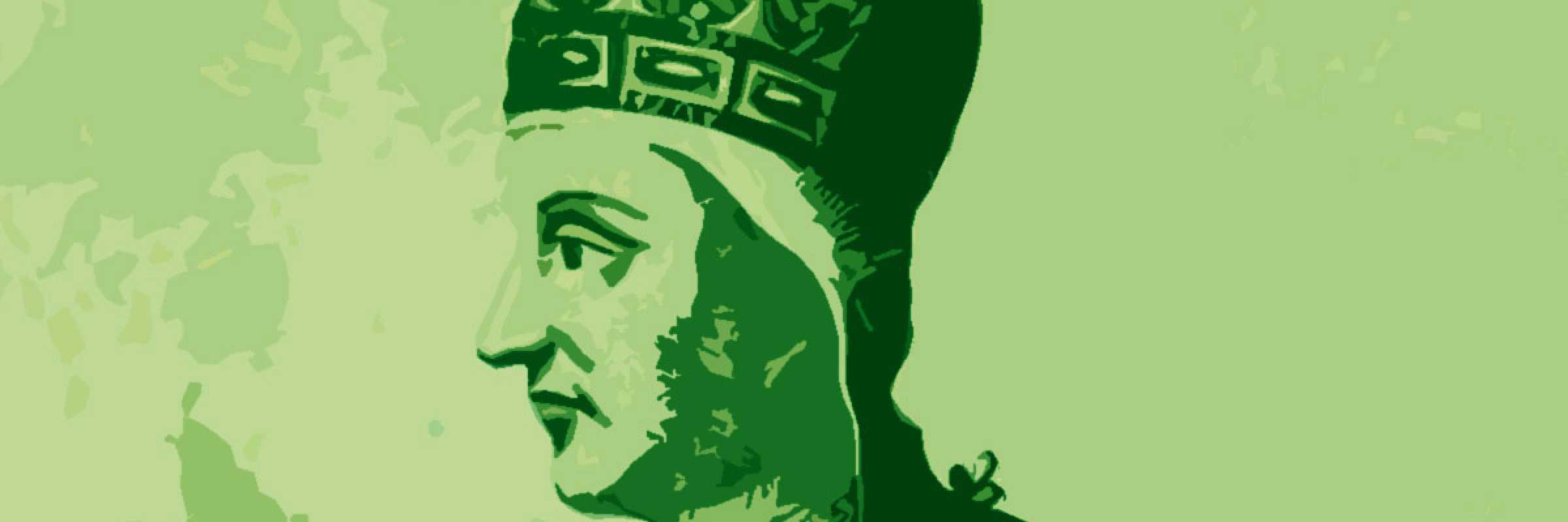 Incisione raffigurante il doge Pietro Candiano III.