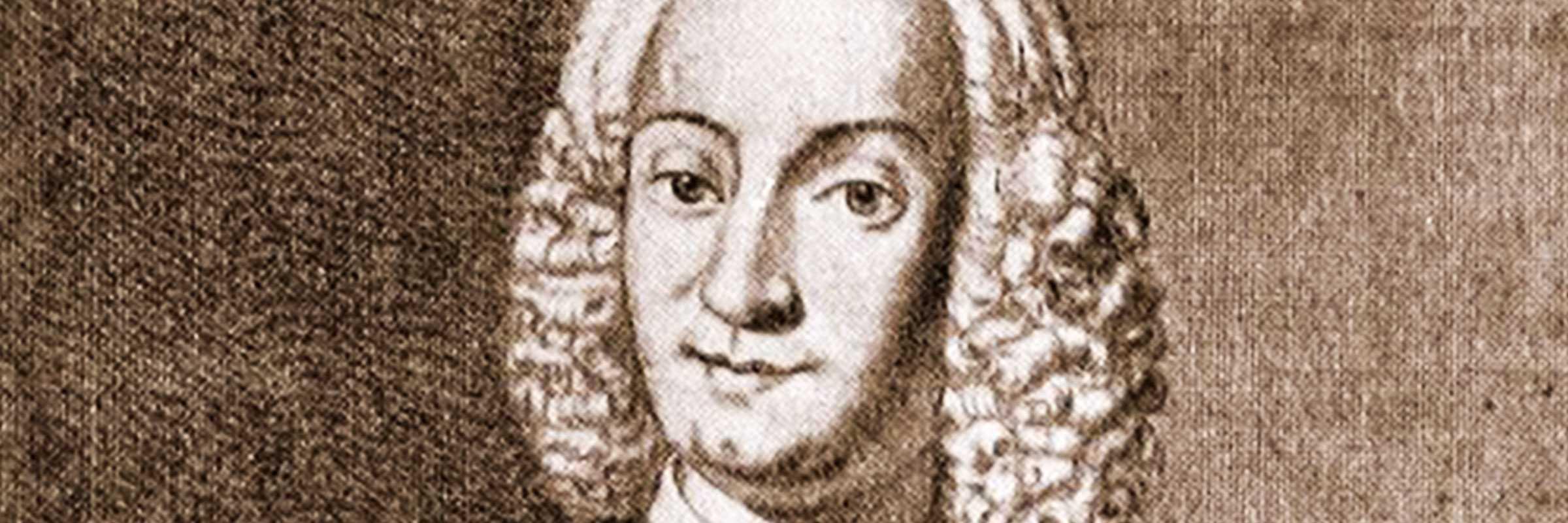 Ritratto in incisione di Antonio Vivaldi.
