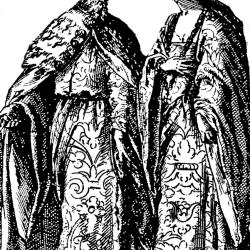 Doge e Ducissa - Incisione del sec. XVI