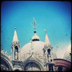 una delle cupole della Basilica di Santa Marco