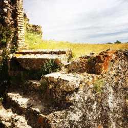 Particolare interno della fortezza