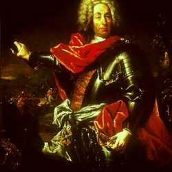 Ritratto di Schulenburg realizzato da Giovanni Antonio Guardi.
