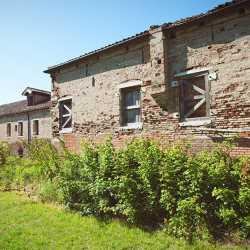 Le mura esterne del tézon vecchio. — (Archivio Venipedia/Bazzmann)