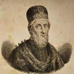 Incisione raffigurante il doge Giovanni I Partecipazio.