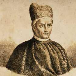Incisione raffigurante il doge Jacopo Contarini.