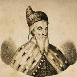 Incisione raffigurante il doge Nicolò da Ponte