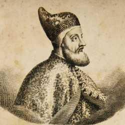Incisione raffigurante il doge Pietro Lando