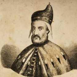 Incisione raffigurante il doge Marcantonio Trevisan