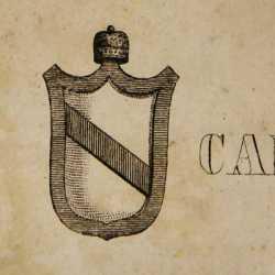 Lo stemma del doge Vitale Candiano