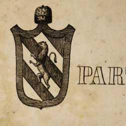 Lo stemma del doge Pietro Partecipazio
