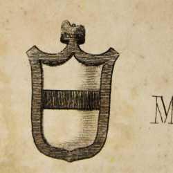 Lo stemma del doge Marino Morosini