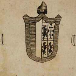 Lo stemma del doge Giovanni I Corner