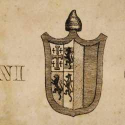 Lo stemma del doge Giovanni Corner II