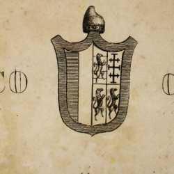Lo stemma del doge Francesco Corner