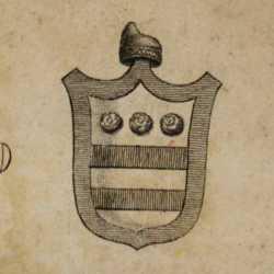 Incisione raffigurante il doge Francesco Donato