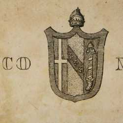 Lo stemma del doge Morosini Francesco
