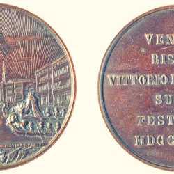 Francesco Stiore, 1866, medaglia Vittorio Emanuele a Venezia