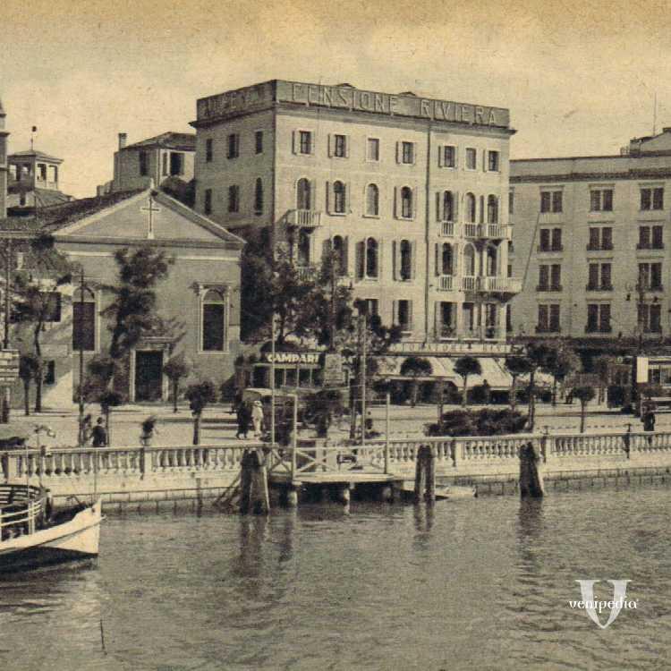 L'approdo del Lido di Venezia.
