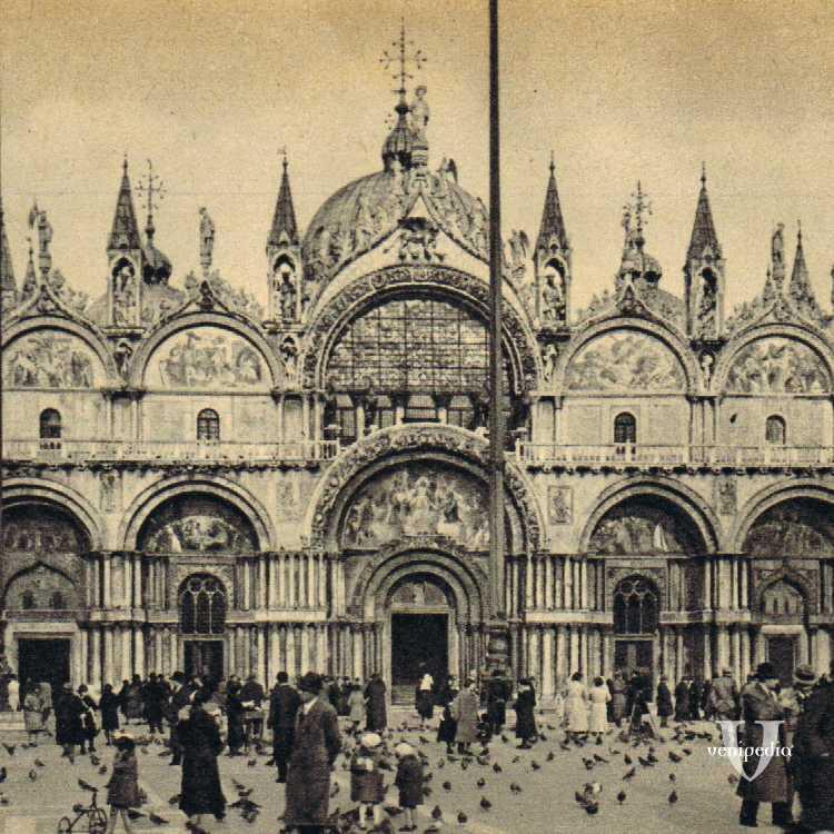 La Basilica di San Marco.