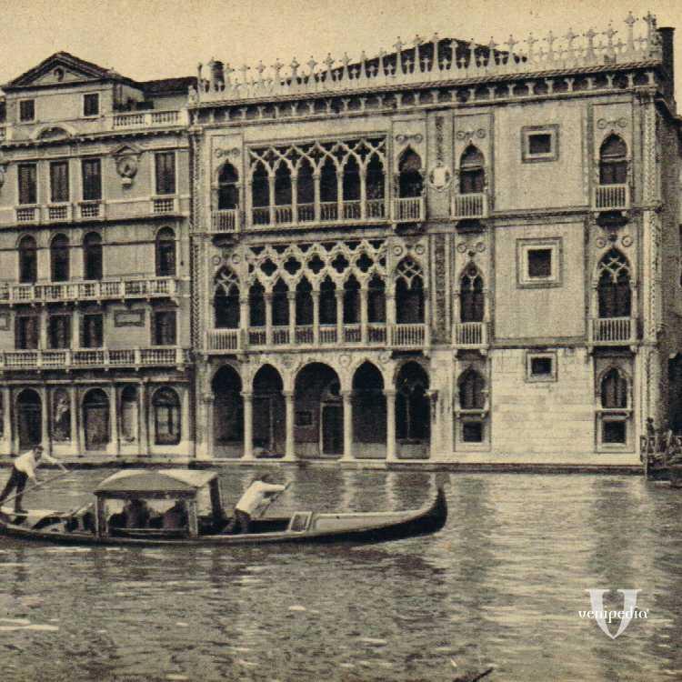 Cà d'Oro, uno dei più particolari palazzi di Venezia, sede della Galleria Giorgio Franchetti.