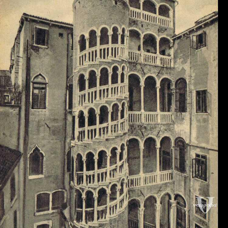 La scala del Bovolo, uno dei luoghi più originali della città lagunare.