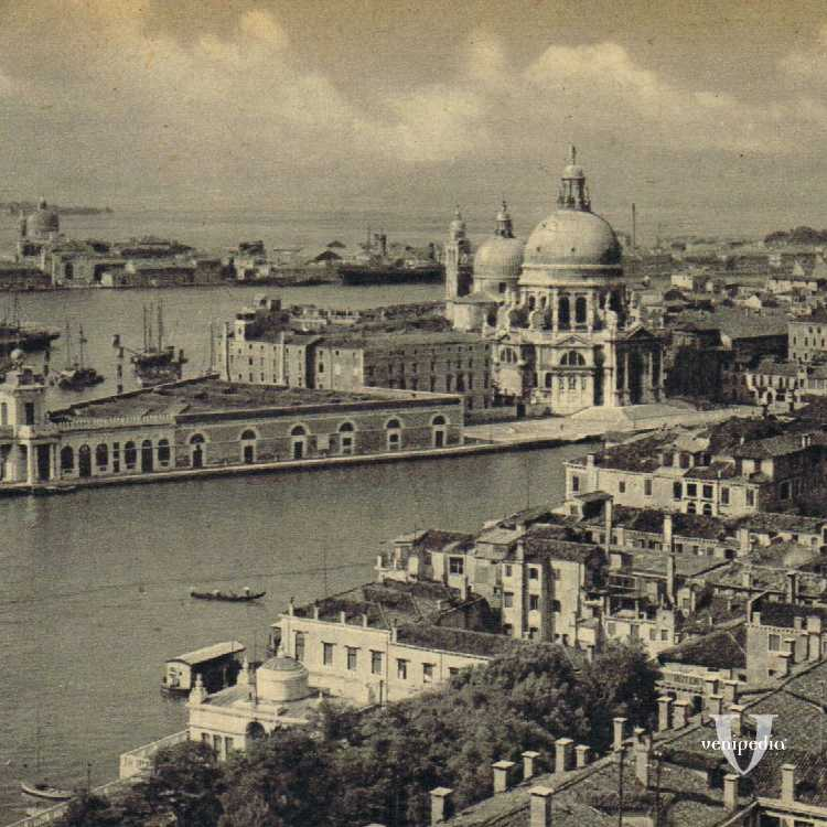 Punta della Dogana, Basilica di Santa Maria della Salute e isola della Giudecca