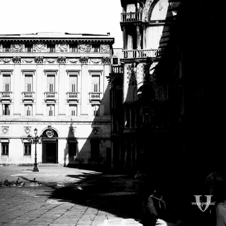 Palazzo Patriarcale e parte della Piazzetta dei Leoncini
