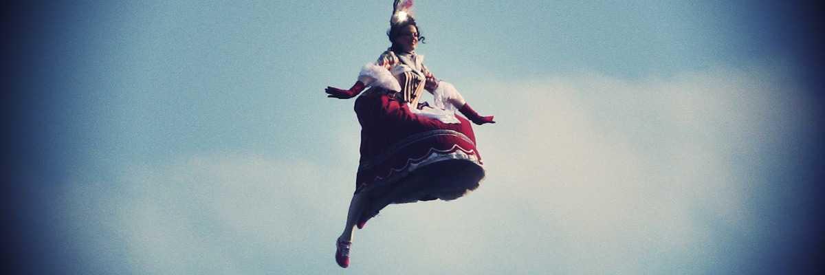 Il volo dell'angelo.
