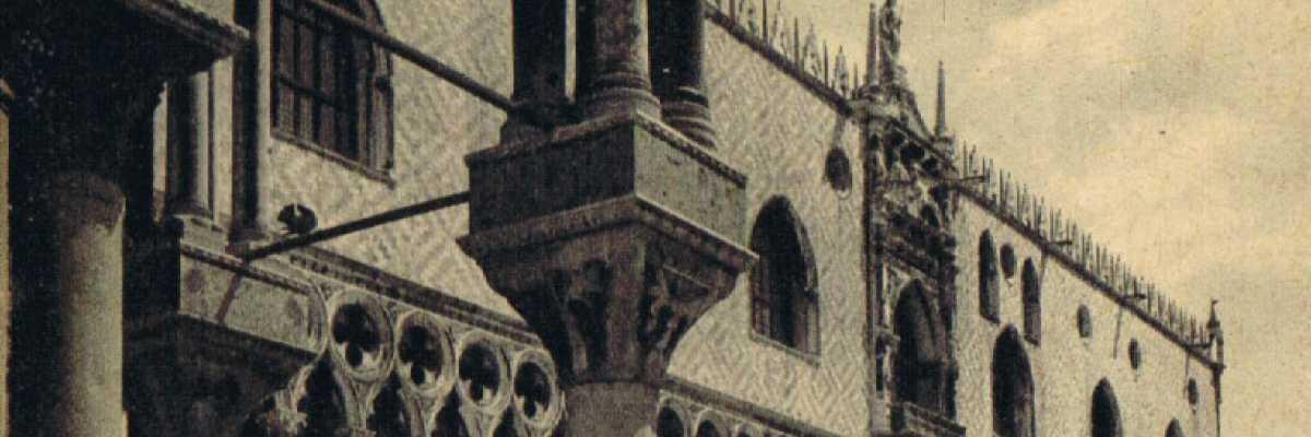 Palazzo Ducale osservato dalla Basilica di San Marco.