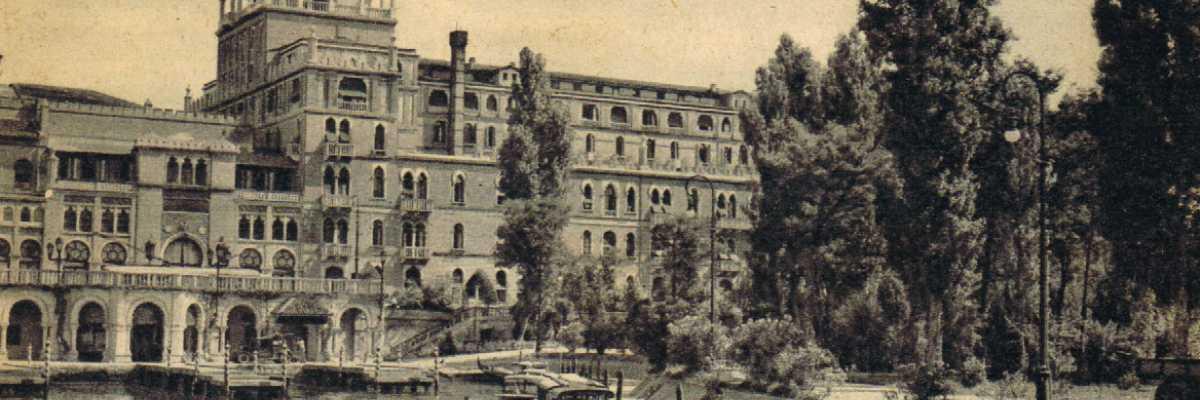 L'hotel Excelsior del Lido di Venezia.