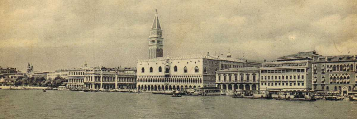 Overview on the San Marco basin and Doge's Palace