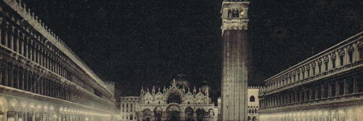 Piazza San Marco by night