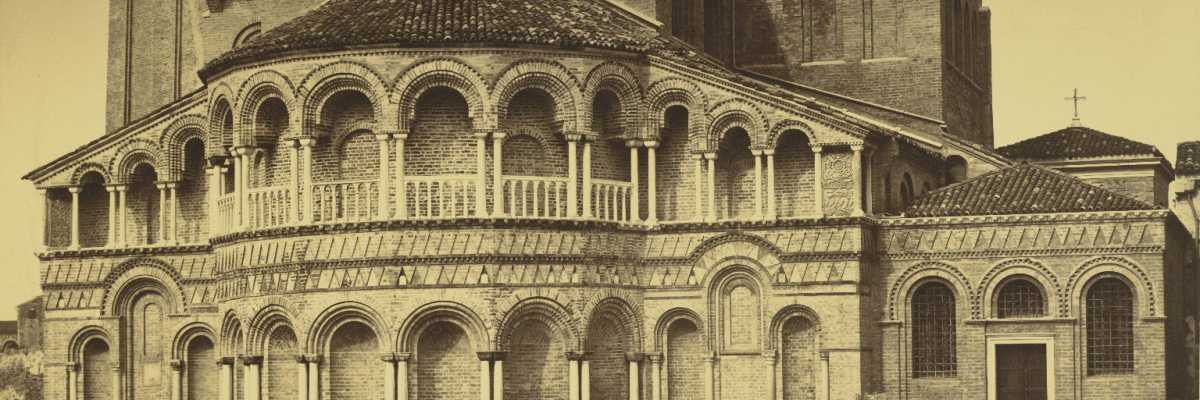 Apse of the Basilica of Santa Maria and San Donato in Murano (Cornell University Library)
