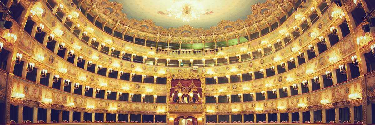 Gran Teatro La Fenice, interno della Sala Grande.