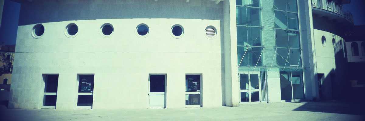 Particolare della facciata dello stabile. — (Archivio Venipedia/Bazzmann)