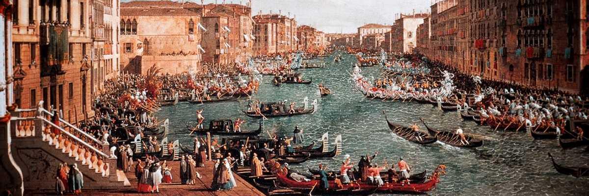 Regata Storica vista dal Canaletto