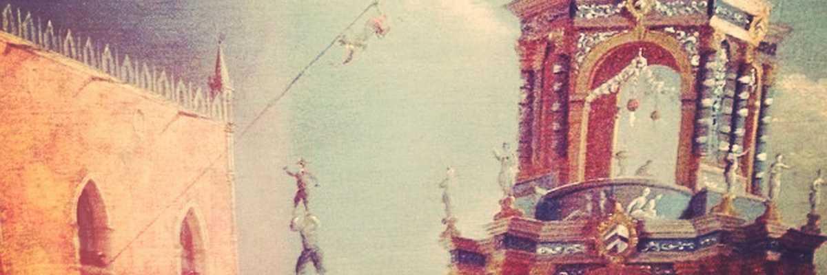 Festa del giovedì grasso in Piazzetta, Gabriel Bella, particolare, Museo della Fondazione Querini Stampalia.