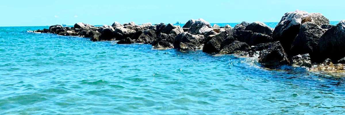 Mare Adriatico al Lido di Venezia — (Archivio Venipedia/Bazzmann)