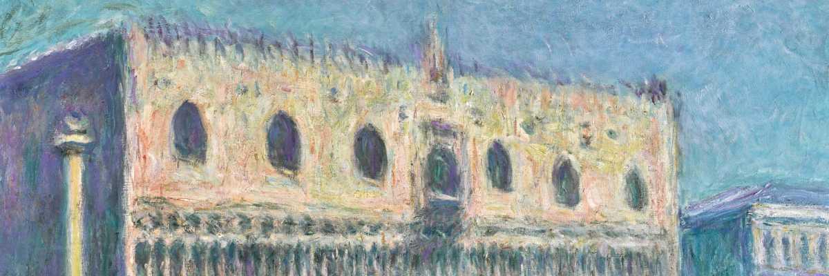 Le Palais Ducal, Claude Monet, 1908 (fonte: Sotheby's)