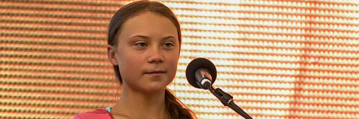 Greta Thunberg al Global Climate Strike del 2019, New York City (Twenty20)