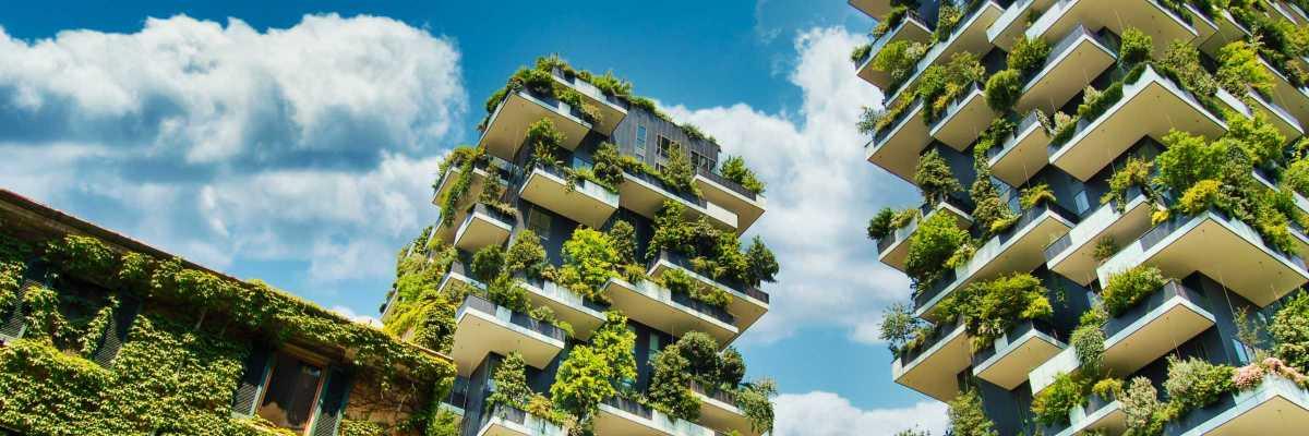 Bosco verticale, Green in the city, Milano (Chris Barbalis, Unsplash)