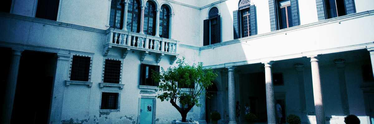 Il chiostro di Palazzo Grimani